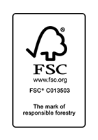 FSC certificate - Our wood products have quality certificates!